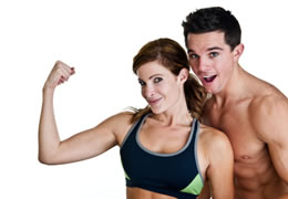 Photo of fitness people