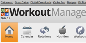 Workout Manager Screenshot