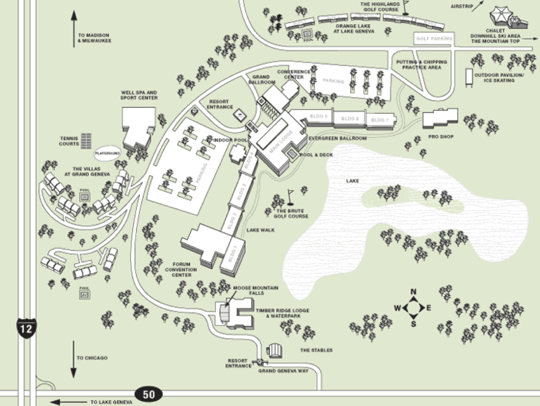Cathe RoadTrip - Geneva convention map