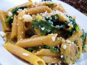 Amazingly Creamy Pumpkin Penne by Cara Lyons