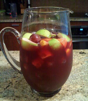 A lower calorie celebratory drink!