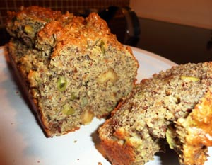 Gluten-Free, Almond Flour Nut Bread