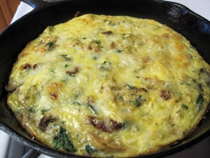 Italian Market Mini Frittata by Jennifer Kelley