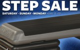 Announcing Our 3 Day Step Sale!