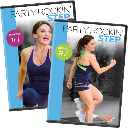 Pre-Order Both Party Rockin Step DVDs for only $19.98 - That's Only $9.98 Each!