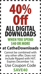 Save 40% on Digital Downloads