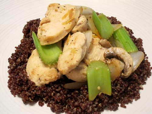 Lemon Pepper Chicken Stir Fry