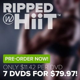 Pre-Order Cathe's Ripped With HiiT workout DVDs