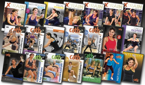 Cathe's Sept 2014 Workout Rotation