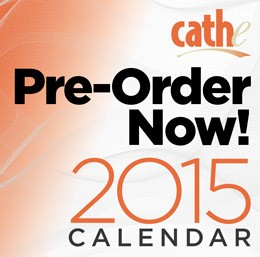 Pre-Order Your 2015 Cathe Fitness Calendar Today
