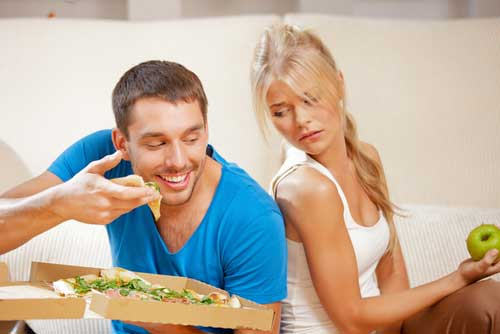 You Eat Healthy and Your Partner Doesn't – What to Do?