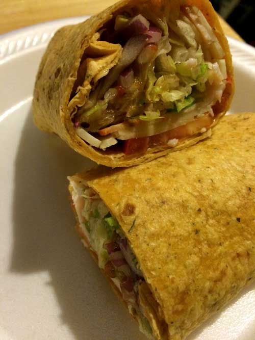 Veggie and Turkey Wrap