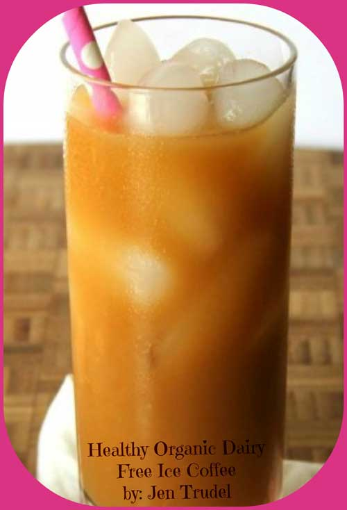 Organic Dairy Free Vanailla Latte Iced Coffee