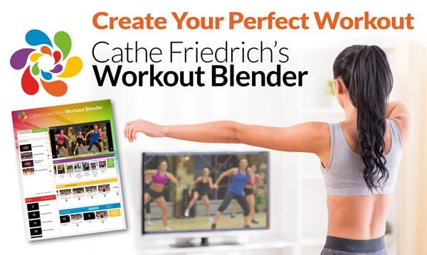 Cathe Friedrich's Online Workout Blender