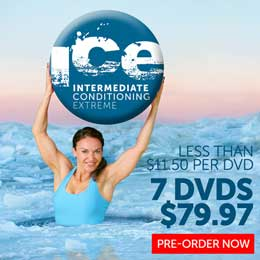 Pre-Order Cathe's ICE DVDs