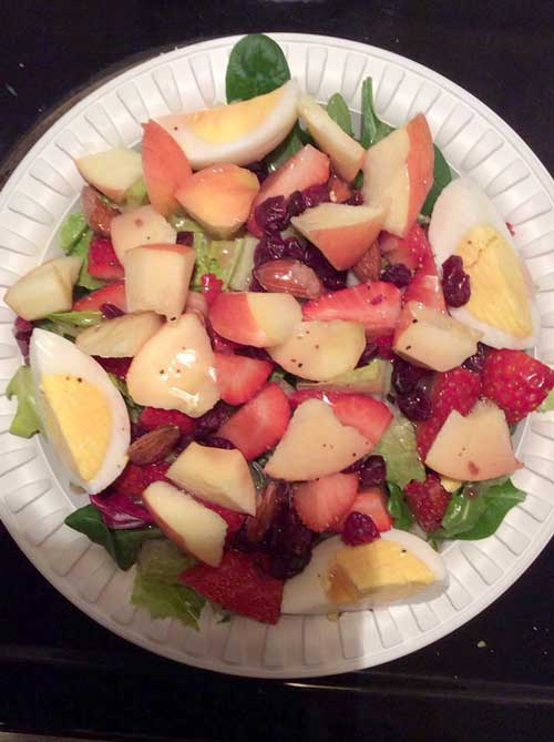 Fruit & Protein Salad