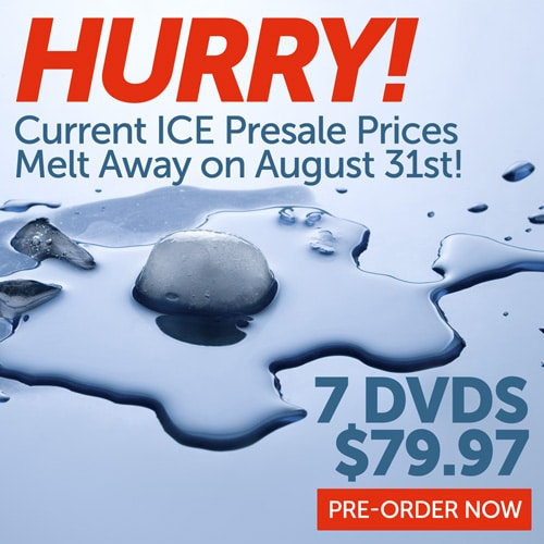 Cathe's Ice Current Pre-Sale Prices End Aug 31st