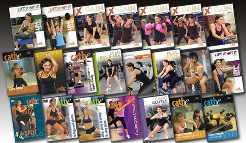 Cathe's September 2015 Workout Rotation