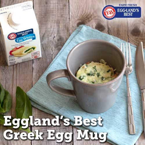 Greek Egg Mug recipe from Eggland's Best