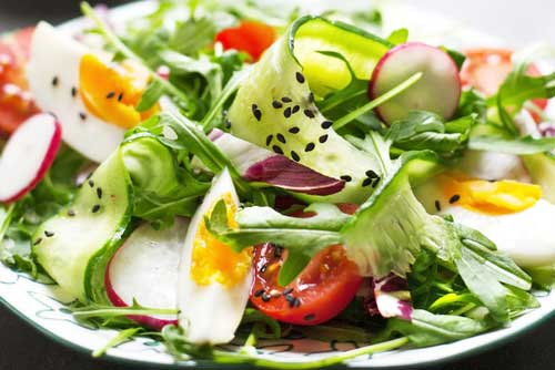Does Adding Egg to a Salad Boost Nutrient Absorption?