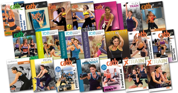 Cathe's June 2015 Workout Rotation