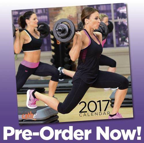 2017 Cathe Fitness Calendar