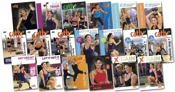 Cathe's December 2016 Workout Rotation
