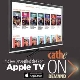 Cathe OnDemand is Now on Apple TV