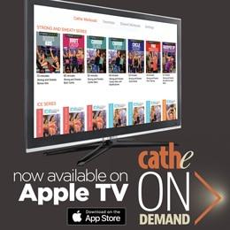 Cathe OnDemand is Now on Apple TV