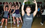 Cathe Leads a Barre Class on Saturday