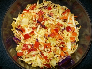 ALL GROWN UP CABBAGE SALAD