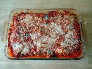"""Zucchini """"noodle"""" lasagne"""