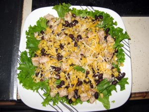 Quick and Easy Mexican Salad
