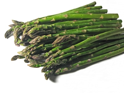 asparagus and spring vegetables