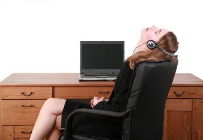 Break At The Desk
