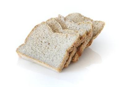 Gluten-free bread homemade with breadmaker