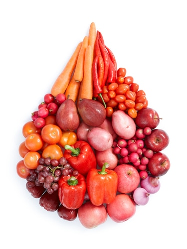 Want to Stay Healthy? Don't Eat Green, Eat Red!