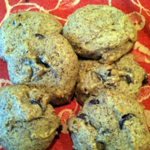 Low-Fat Flaxseed Chocolate Chip Cookies