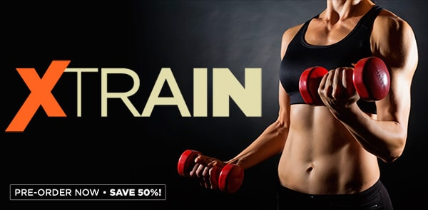 Pre-Order Cathe's New XTRAIN Workout Series