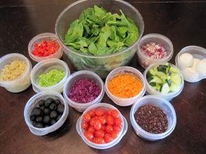 """Power Salad"" Bar by Jennifer"
