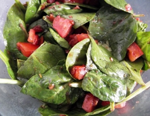 Spinach and Tomato Salad by Dusty