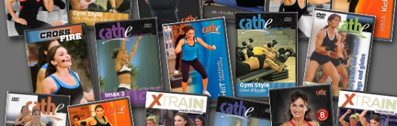 Cathe Friedrich's Get in shape for Summer - May 2013 rotation