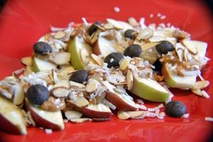 Apple Nachos by Kerri Brooks