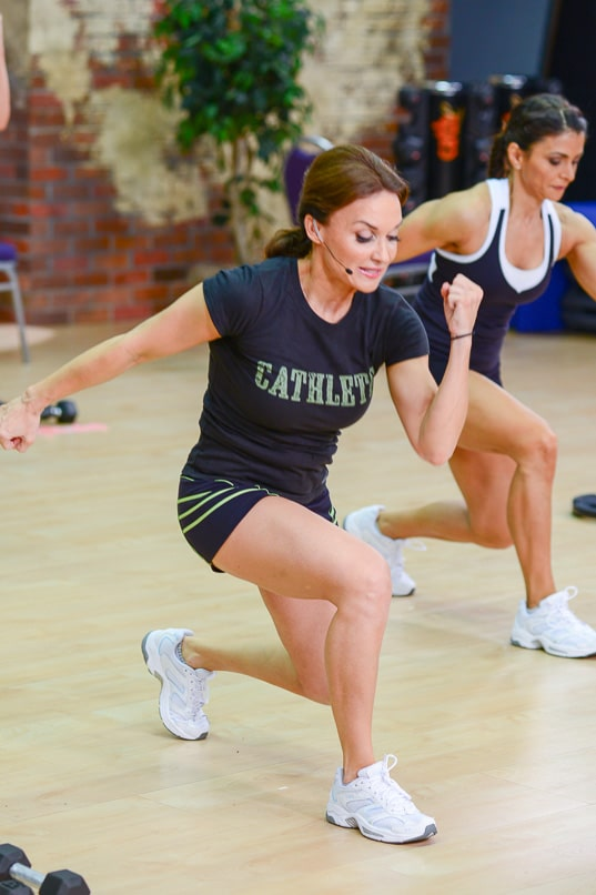 Cathe's Lean Legs and Abs Exercise Video