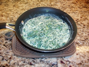 Super Easy Fat Free Creamed Spinach by Amanda S.