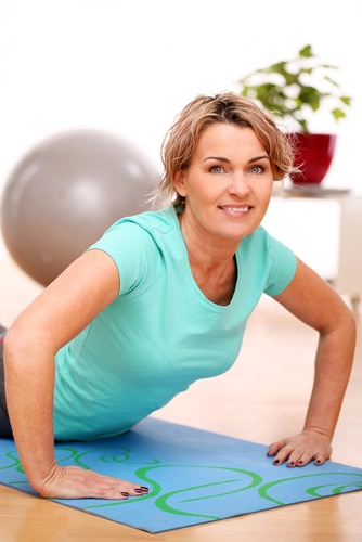 Ways exercise improves menopause and hot flashes