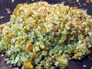 "Cauliflower ""Rice"" Pilaf"