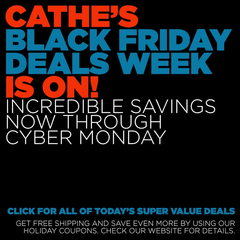 Our Cathe Black Friday Deal Week Starts Now!