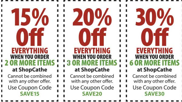 Cathe Discount Coupons