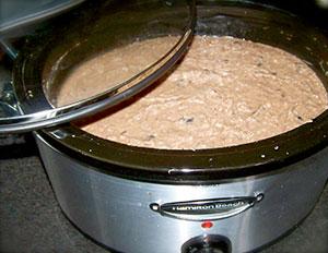 Crockpot Organic Mock Refried Beans by Goatgirl83